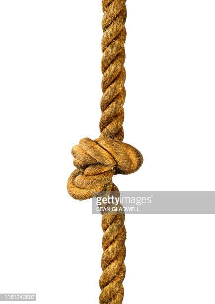 rope knot - rope stock pictures, royalty-free photos & images