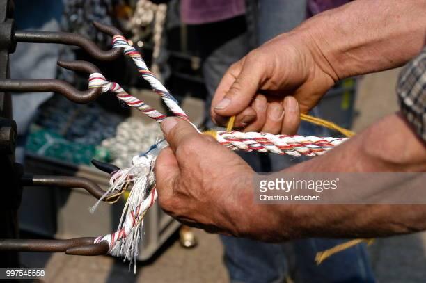 rope manufacturer - christina felschen - fotografias e filmes do acervo