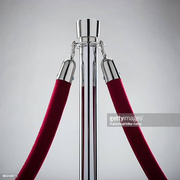 rope stand with a velvet rope attached