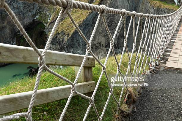 Rope structure of Carrick-a-Rede bridge