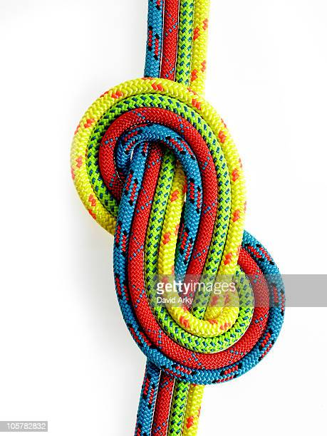Ropes looped together