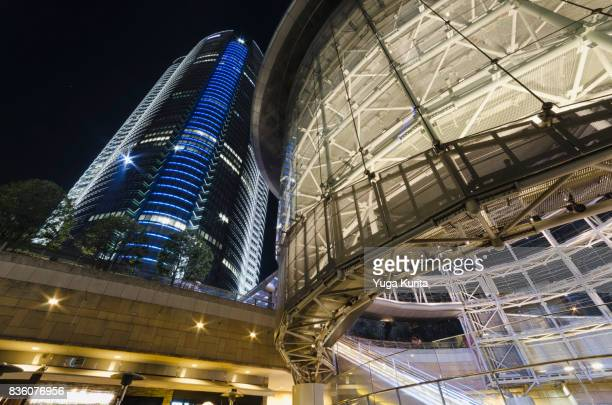 roppongi hills at night - roppongi hills stock pictures, royalty-free photos & images