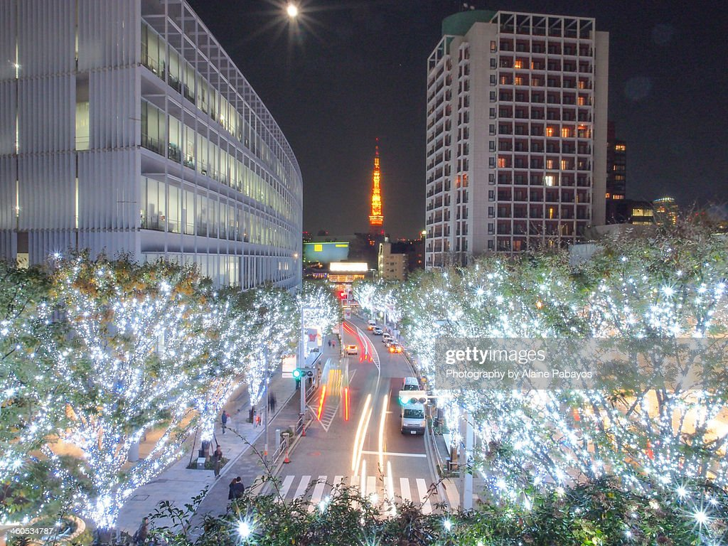 Roppongi Lightup : Stock Photo