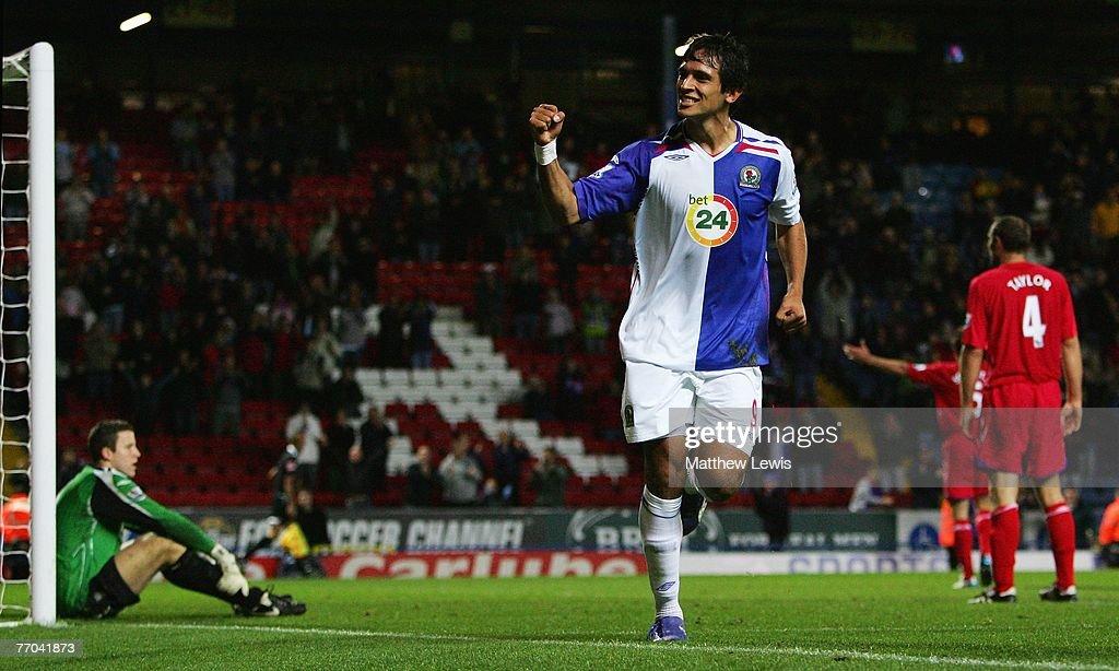 Blackburn Rovers v Birmingham City - Carling Cup : News Photo