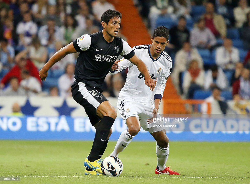 Real Madrid CF v Malaga CF - La Liga : News Photo
