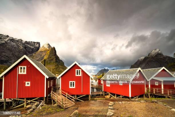 Rorbu in Reine, Nordland, Lofoten Islands