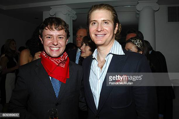 Roric Tobin and Eric Javits attend GEOFFREY BRADFIELD Birthday Celebration at 116 East 61st St on September 20 2007 in New York City