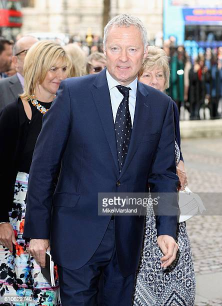 Rory Bremner attends a memorial service for the late Sir Terry Wogan at Westminster Abbey on September 27 2016 in London England
