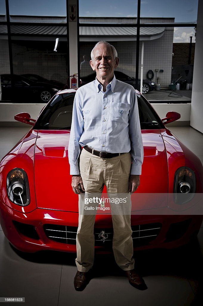 Rory Byrne at Viglietti-motors on December 19, 2012, in Johannesburg, South Africa. Rory was the head designer of Ferrari's F1 vehicles for 15 years.