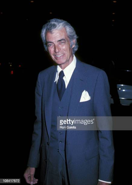 Rory Calhoun during Soap Opera Digest Magazine Party - April 8, 1982 at Beverly Hills Hotel in Beverly Hills, California, United States.