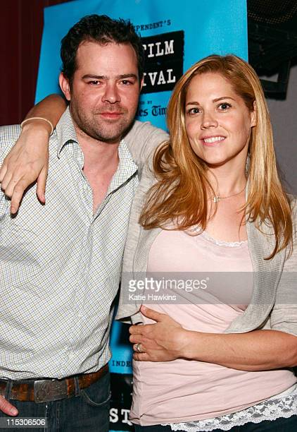 Rory Cochrane and Mary McCormack during 2006 Los Angeles Film Festival 'Right at Your Door' Screening at Mann Festival Theatre in Los Angeles...