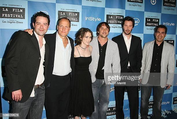 Rory Cochrane Winona Ryder Woody Harrelson Richard Linklater Keanu Reeves and Tommy Pallotta