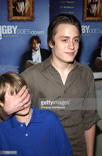 brothers rory culkin stock photos and pictures getty images