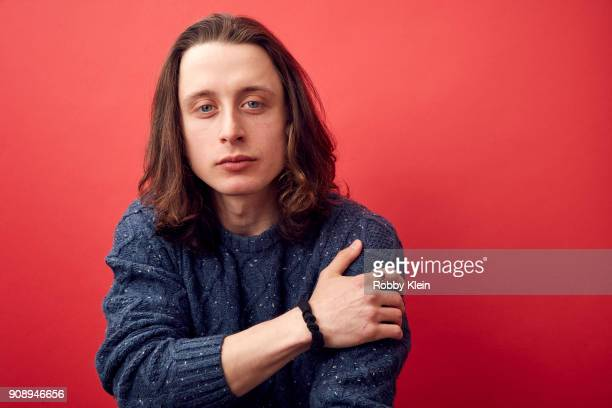 Rory Culkin from the film 'Lords of Chaos' poses for a portrait in the YouTube x Getty Images Portrait Studio at 2018 Sundance Film Festival on...