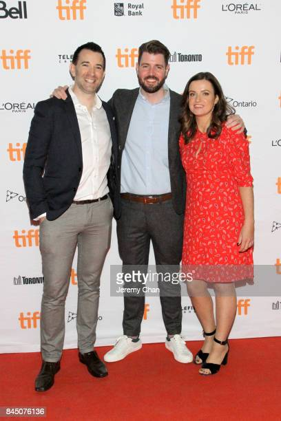 Rory Dungan David Freyne and Rachael O'Kane attend The Cured premiere during the 2017 Toronto International Film Festival at Ryerson Theatre on...
