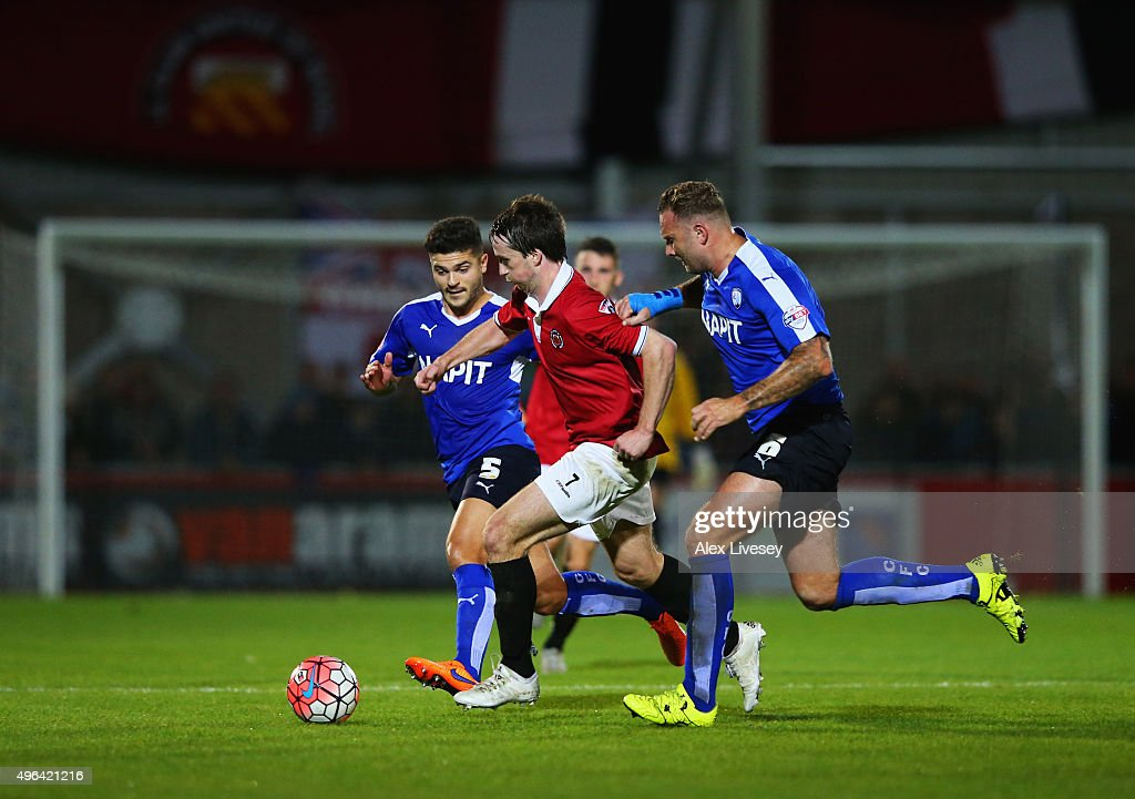 FC United of Manchester v Chesterfield - The Emirates FA Cup First Round