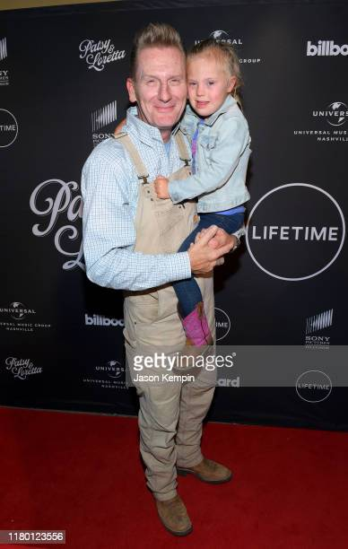 """Rory Feek and daughter Indiana Feek attend a special screening and reception for """"Patsy & Loretta"""" presented by Lifetime at the Franklin Theatre on..."""