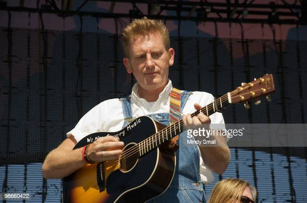 Rory Feek of Joey & Rory performs at the 2010 Stagecoach Music Festival at the Empire Polo Club on April 24, 2010 in Indio, California.