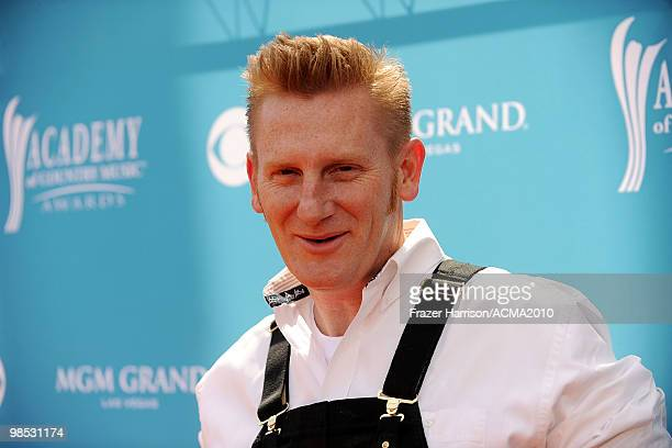 Rory Feek of the band Joey + Rory arrives for the 45th Annual Academy of Country Music Awards at the MGM Grand Garden Arena on April 18, 2010 in Las...