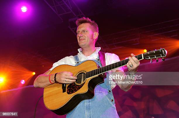 Rory Feek of the band Joey + Rory performs onstage at the 45th Annual Academy of Country Music Awards All Star Jam at the MGM Grand Hotel/Casino on...