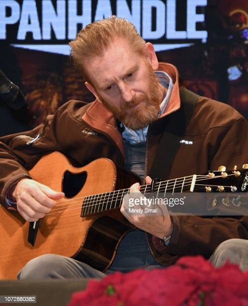 """Rory Feek performs onsatge during the """"Outside the Barrel"""" with Flint Rasmussen show during the National Finals Rodeo's Cowboy Christmas at the Las..."""