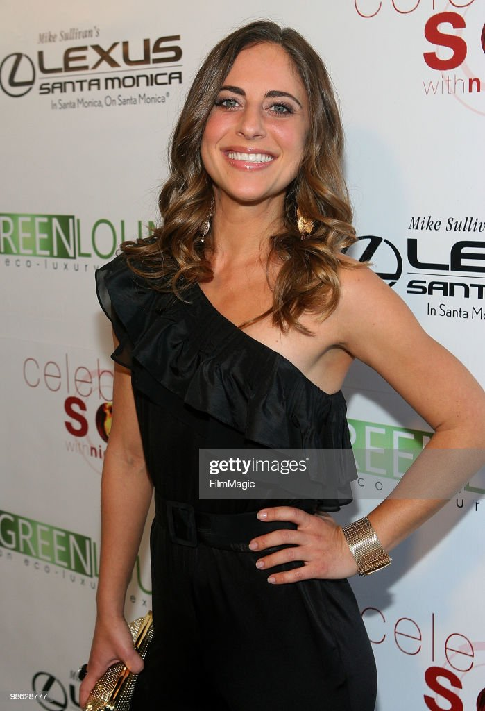 Rory Freedman arrives at Green Lounge Eco Luxury Experience Earth Day Awards Presented By Lexus Santa Monica on April 22, 2010 in Santa Monica, California.