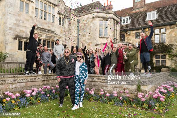 Rory Graham known as Rag'n'Bone Man and Beth Rouy during their wedding at Lewes Registry Office on May 2 2019 in Brighton England