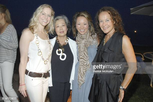 Rory Hermelee Kim Cho Alina Cho and Nancy Hodin attend JUDY LICHT and JERRY DELLA FEMINA Hosts Cocktails for STEPHANIE WINSTON WOLKOFF and DAVID...