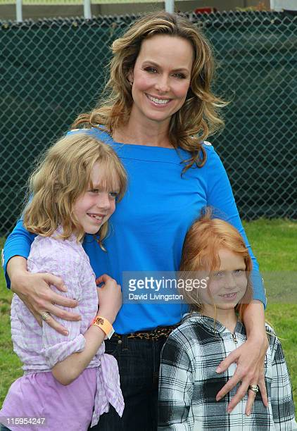 Rory Jackson actress Melora Hardin and Piper Quincey Jackson attend the Elizabeth Glaser Pediatric AIDS Foundation's A Time For Heroes Event at...