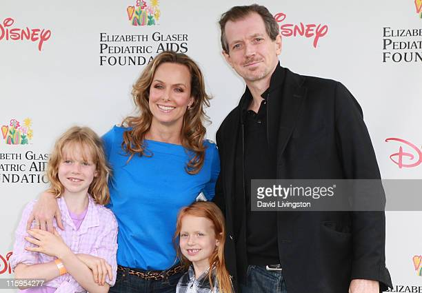 Rory Jackson actress Melora Hardin Piper Quincey Jackson and actor Gildart Jackson attend the Elizabeth Glaser Pediatric AIDS Foundation's A Time For...