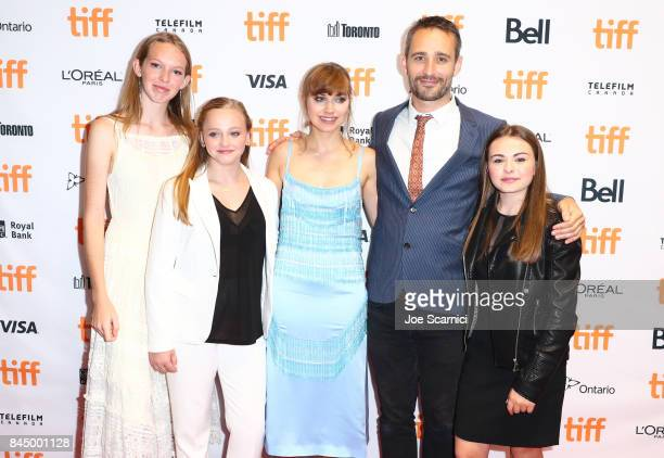 Rory Jackson Madison Wolfe Imogen Poots Anders Walter and Sydney Wade attend the 'I Kill Giants' premiere during the 2017 Toronto International Film...