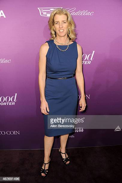 Rory Kennedy arrives at The Hollywood Reporter's 3rd Annual Academy Awards nominees night at Spago on February 2 2015 in Beverly Hills California