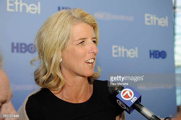 Rory Kennedy attends the Boston Premiere of the HBO Documentary 'Ethel A Private Look Inside a Highly Public Life' at The John F Kennedy Presidential...