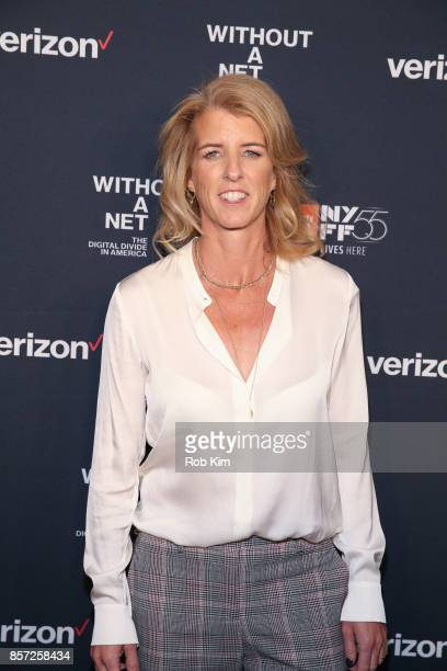 Rory Kennedy attends the premiere of 'Without a Net' during the 55th New York Film Festival at The Film Society of Lincoln Center Walter Reade...