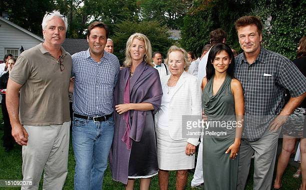 Rory Kennedy Ethel Kennedy Hilaria Thomas Baldwin and Alec Baldwin attend The Hamptons International Film Festival Presents ETHEL Sponsored By...