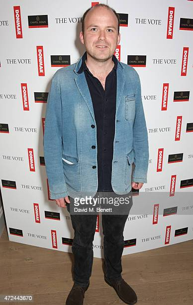 Rory Kinnear celebrates following the live broadcast of The Donmar Warehouse's production of The Vote at the Ham Yard Hotel generously supported by...