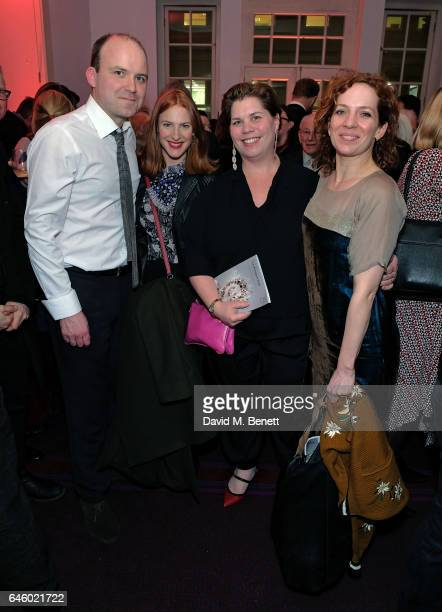 Rory Kinnear Rosalie Craig Katy Brand and Katherine Parkinson attend the opening night of The English National Opera's 'The Winter's Tale' on...
