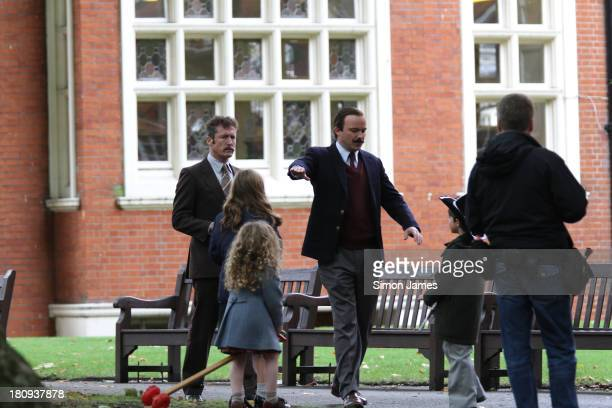 Rory Kinnear sighting filming scenes for 'Lord Lucan' on September 18 2013 in London England