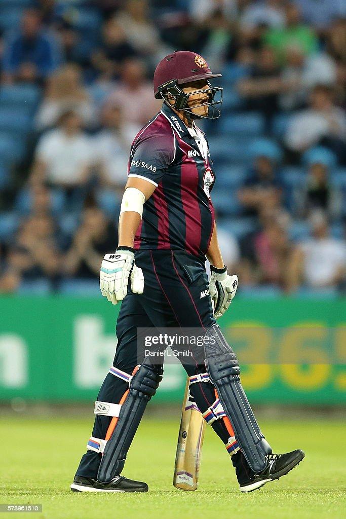 Yorkshire v Northamptonshire - NatWest T20 Blast 2016