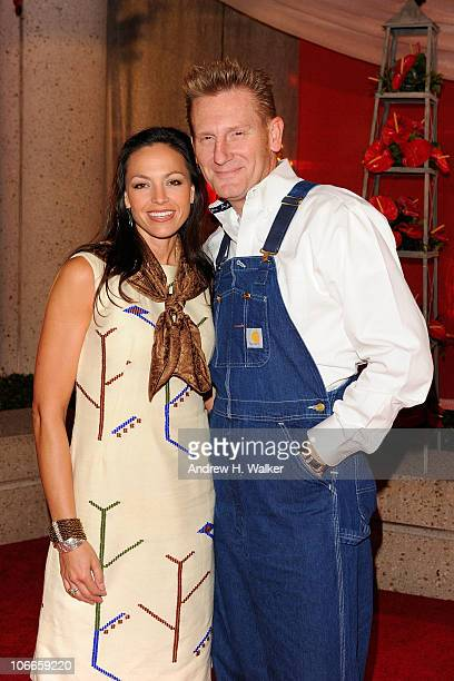 Rory Lee Feek and Joey Martin Feek of Joey Rory attend the 58th Annual BMI Country Music Awards at BMI on November 9 2010 in Nashville Tennessee
