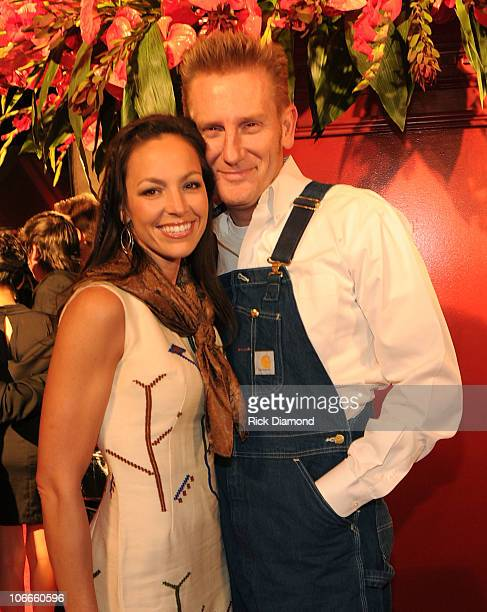 Rory Lee Feek and Joey Martin Feek of Joey + Rory attend the 58th Annual BMI Country Music Awards at BMI on November 9, 2010 in Nashville, Tennessee.