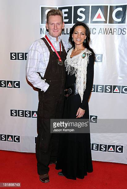 Rory Lee Feek and Joey Martin Feek of JoeyRory attend the 2011 SESAC Nashville Music Awards at The Pinnacle at Symphony Place on November 7 2011 in...