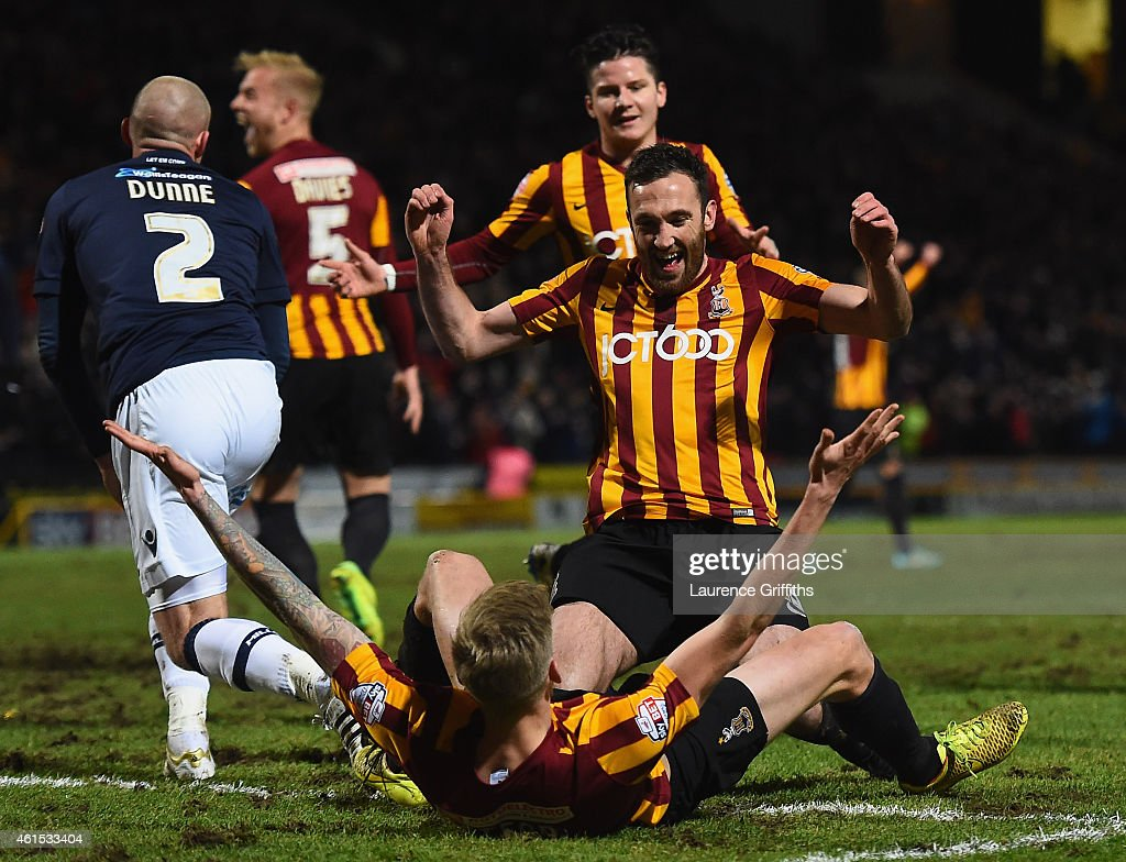 Bradford City v Millwall - FA Cup Third Round Replay
