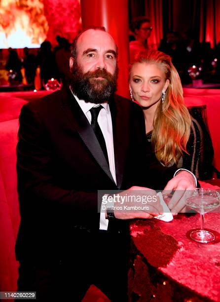 Rory McCann and Natalie Dormer attend the Game Of Thrones Season 8 Premiere After Party on April 03 2019 in New York City