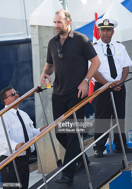 Rory McCann arrives at ComicCon on July 25 2014 in San Diego California