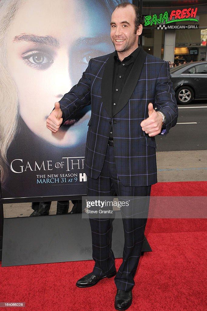 "HBO's ""Game Of Thrones"" Season 3 - Los Angeles Premiere : News Photo"