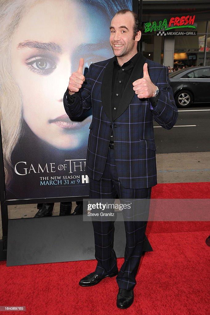 "HBO's ""Game Of Thrones"" Season 3 - Los Angeles Premiere : Photo d'actualité"