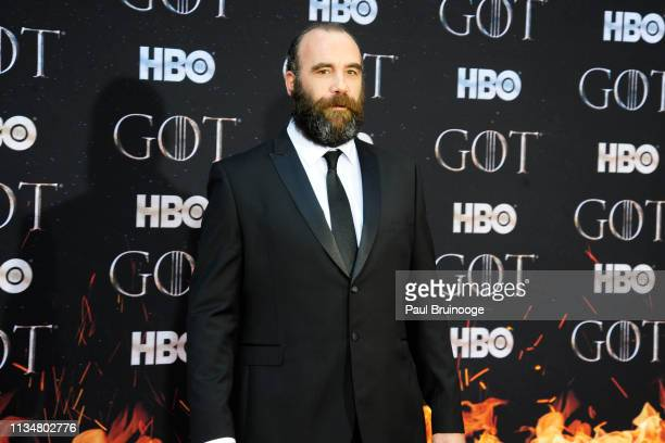 Rory McCann attends Game Of Thrones New York Premiere at Radio City Music Hall NYC on April 3 2019 in New York City
