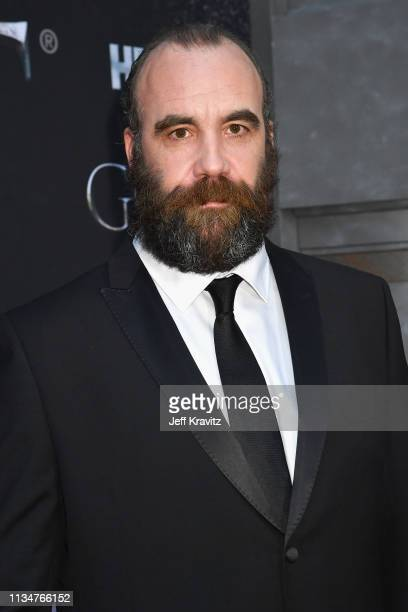 Rory McCann attends the Game Of Thrones Season 8 NY Premiere on April 3 2019 in New York City