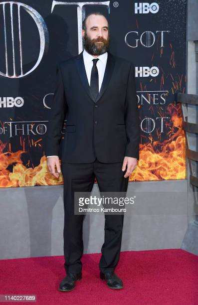 Rory McCann attends the Game Of Thrones Season 8 Premiere on April 03 2019 in New York City